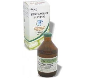 Гипохлорит натрия 3 %