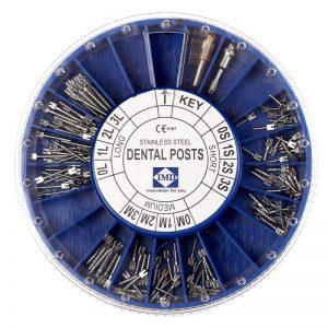 Набор анкерных стальных штифтов в органайзере, 120 шт.