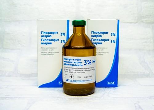 Гипохлорит натрия 3 % Латус