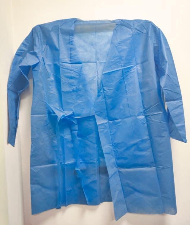 Изоляционный халат одноразовый 5 шт